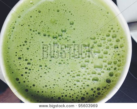 Greentea matcha latte