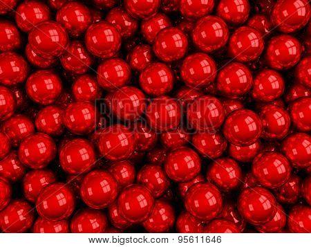 Balls Red Glossy