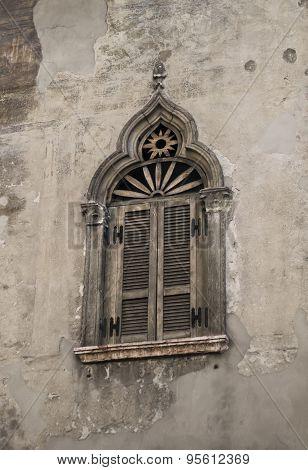 Old Window, Verona, Italy