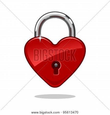 Heartshaped Lock