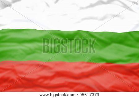 Bulgaria flag.