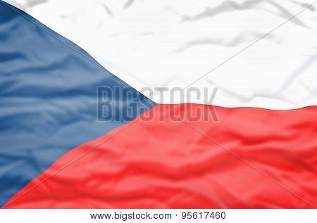 Czech Republic flag.