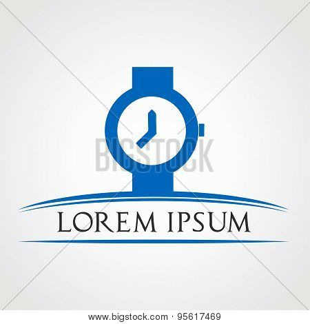 wristwatch symbol vector