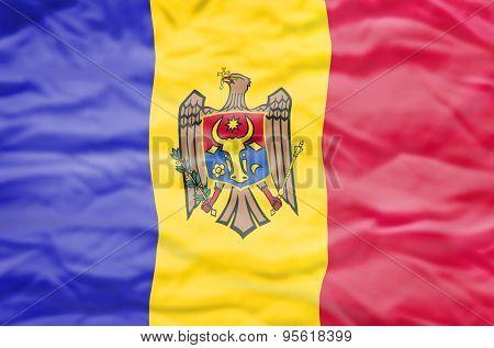 Moldavia flag.