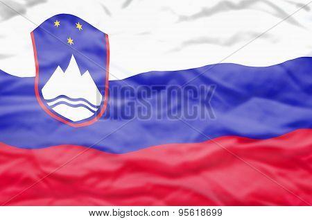 Slovenia flag.