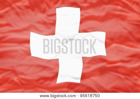 Switzerland flag.