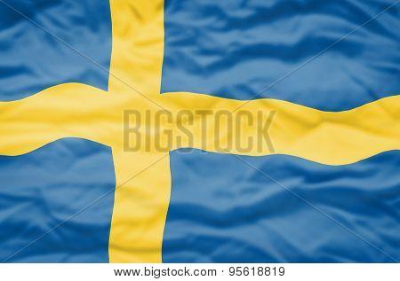 Sweden flag.