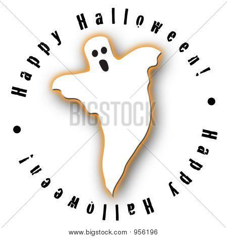 Ghost Halloween Design