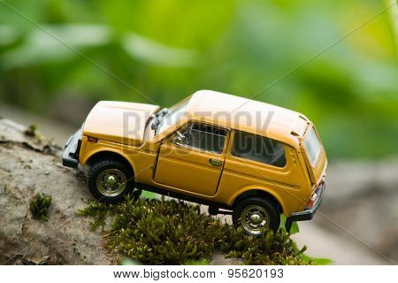 Old Toy Suv Off-road