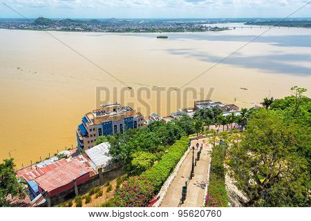 Path And Guayas River