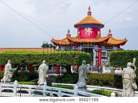 Da Fo Buddhist Temple. Keelung, Taiwan