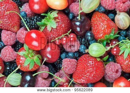A Mixture Of Berries