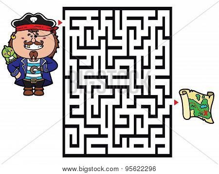 Pirate labyrinth