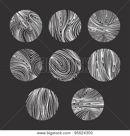 Abstract Vector Backgrounds Set With Lines.