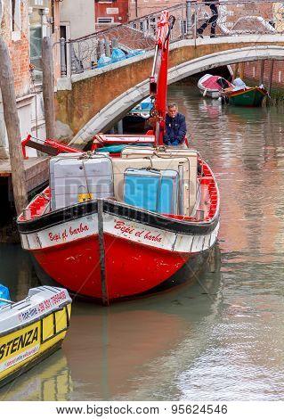 Venice. Water Transport.