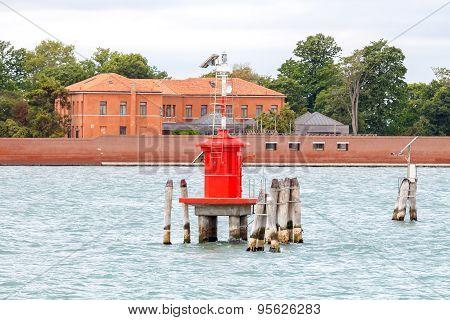 Venice. Old Lighthouse.