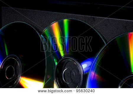 cd and music boxes