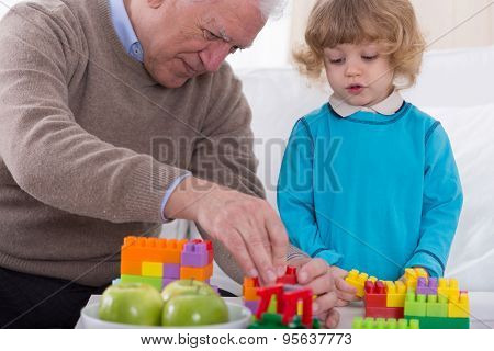 Man And Grandson