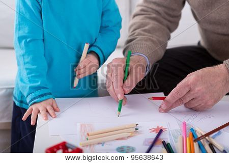 Drawing Picture Together