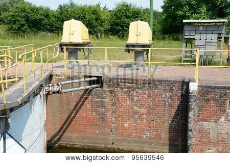 Sluice Gate End Electric Devices
