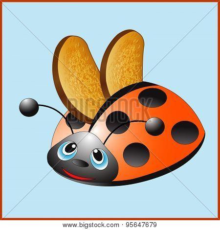 Ladybug Toaster.