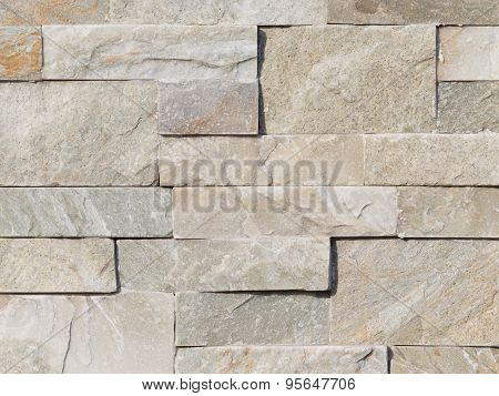 Wall Of Gray Stone