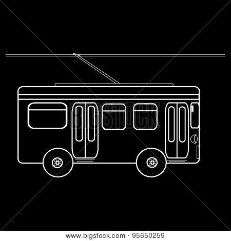 Trolleybus City Municipal Public Transport