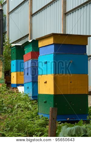 Three Beehives