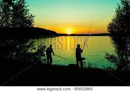 Fishing night.