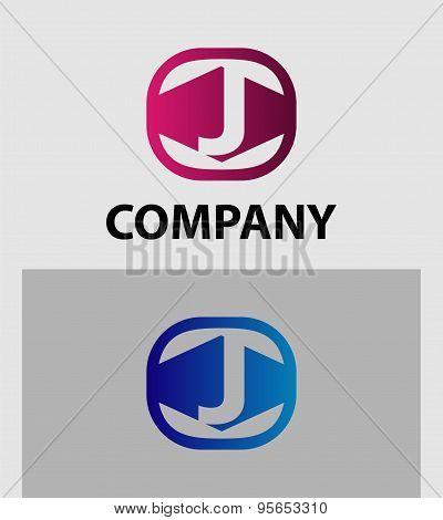 J Letter Logo Icon Design template Element