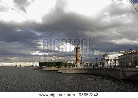 Spit Of Vasilyevsky Island