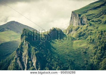 Mountains Landscape moody weather clouds Summer Travel