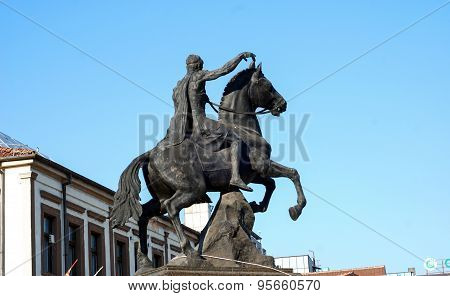Philip Ii, Monument In Bitola, Macedonia