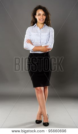 Latino Businesswoman