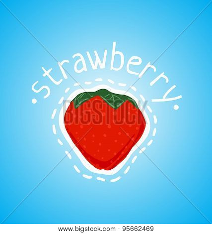 Red And Ripe Strawberry