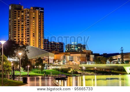 Adelaide City At Night