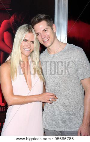 LOS ANGELES - JUL 7:  Lauren Scruggs, Jason Kennedy at the