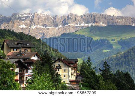 Sella group mountain, Dolomites Alps, Italy
