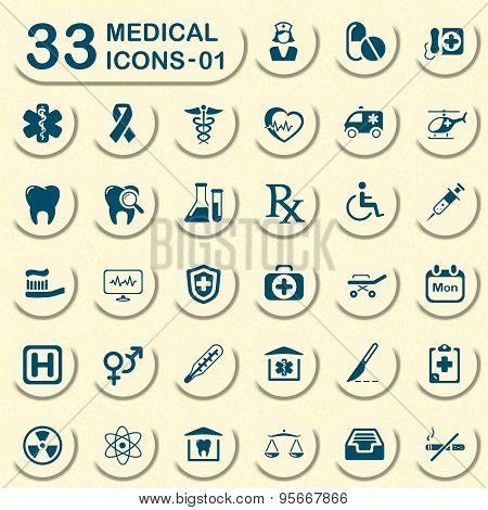 Jeans medical icons