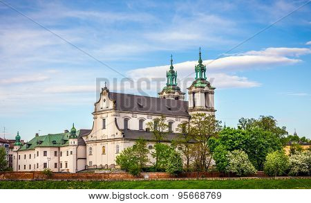 St. Michael Archangel Church In Cracow, Poland