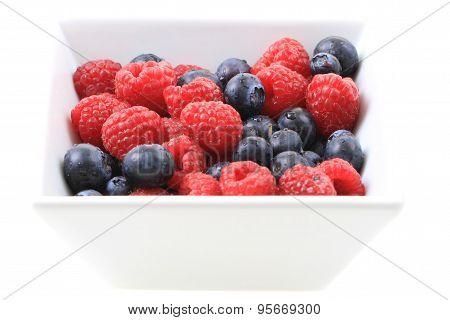 Blueberries Ad Raspberries