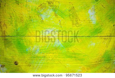 Painted Wooden Surface
