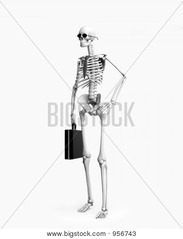 Skeletont Businessman