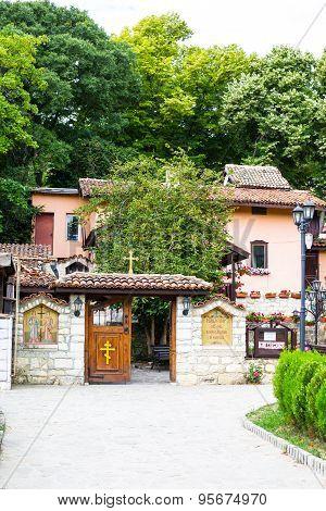 Entrance Of Monastery St.st. Constantine And Helena Near Varna, Bulgaria