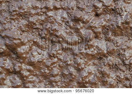 Close Up Brown Crude Concrete Grunge Texture Background