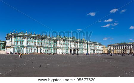 View Winter Palace Square