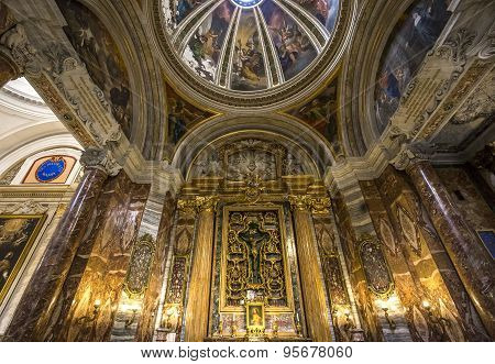 Sant Ignazio Church, Rome, Italy
