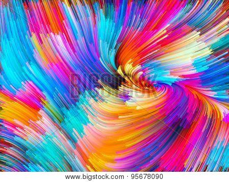Energy Of Color Vortex