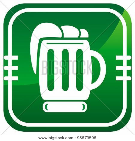 Beer Green Icon