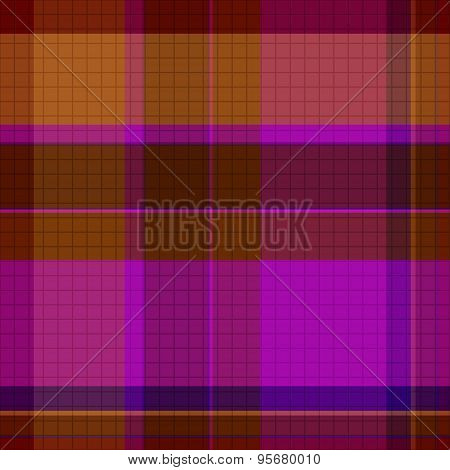Abstract Tartan Seamless